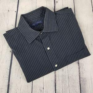 TOMMY HILFIGER | pinstripe button down shirt